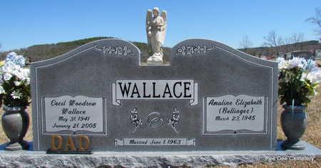 WALLACE, CECIL WOODROW - Van Buren County, Arkansas | CECIL WOODROW WALLACE - Arkansas Gravestone Photos