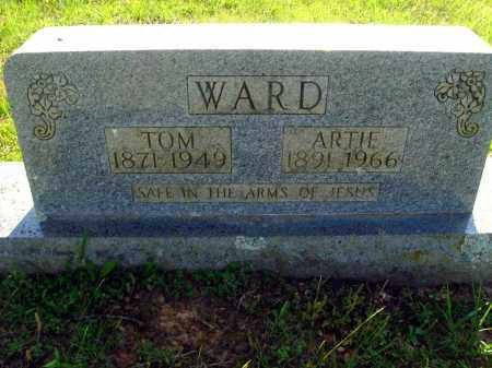 WARD, ARTIE - Van Buren County, Arkansas | ARTIE WARD - Arkansas Gravestone Photos