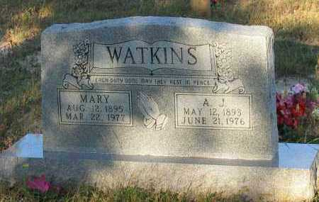 WATKINS, MARY - Van Buren County, Arkansas | MARY WATKINS - Arkansas Gravestone Photos