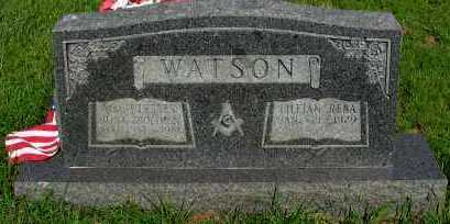WATSON, W ULYSSES - Van Buren County, Arkansas | W ULYSSES WATSON - Arkansas Gravestone Photos