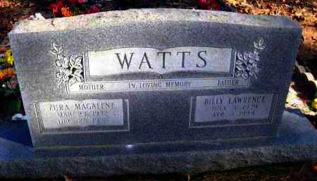 WATTS, BILLY LAWRENCE - Van Buren County, Arkansas | BILLY LAWRENCE WATTS - Arkansas Gravestone Photos
