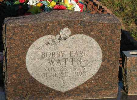 WATTS, BOBBY EARL - Van Buren County, Arkansas | BOBBY EARL WATTS - Arkansas Gravestone Photos
