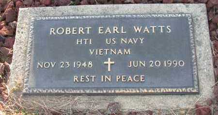 WATTS (VETERAN VIET), ROBERT EARL - Van Buren County, Arkansas | ROBERT EARL WATTS (VETERAN VIET) - Arkansas Gravestone Photos