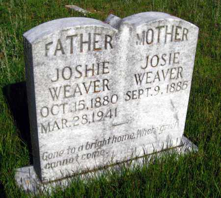 WEAVER, JOSIE - Van Buren County, Arkansas | JOSIE WEAVER - Arkansas Gravestone Photos