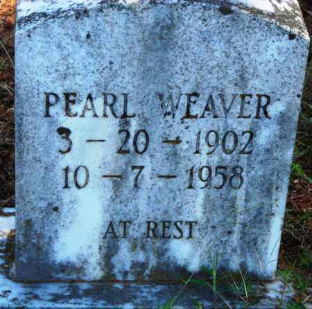 WEAVER, PEARL - Van Buren County, Arkansas | PEARL WEAVER - Arkansas Gravestone Photos