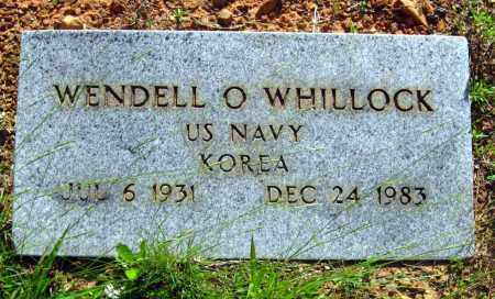 WHILLOCK (VETERAN KOR), WENDELL O - Van Buren County, Arkansas | WENDELL O WHILLOCK (VETERAN KOR) - Arkansas Gravestone Photos