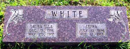 WHITE, LAURA ELLA - Van Buren County, Arkansas | LAURA ELLA WHITE - Arkansas Gravestone Photos