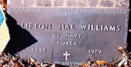 WILLIAMS  (VETERAN KOR), CLIFTON HAL - Van Buren County, Arkansas | CLIFTON HAL WILLIAMS  (VETERAN KOR) - Arkansas Gravestone Photos