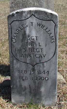 WILLIAMS  (VETERAN UNION), CHARLES T - Van Buren County, Arkansas | CHARLES T WILLIAMS  (VETERAN UNION) - Arkansas Gravestone Photos