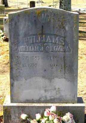 WILLIAMS, WILLIAM J - Van Buren County, Arkansas | WILLIAM J WILLIAMS - Arkansas Gravestone Photos