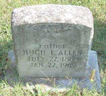 ALLEN, HUGH L - Washington County, Arkansas | HUGH L ALLEN - Arkansas Gravestone Photos