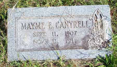 CANTRELL, MAYME E - Washington County, Arkansas | MAYME E CANTRELL - Arkansas Gravestone Photos