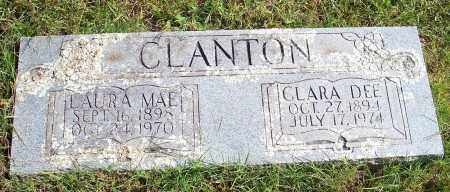 CLANTON, CLARA DEE - Washington County, Arkansas | CLARA DEE CLANTON - Arkansas Gravestone Photos