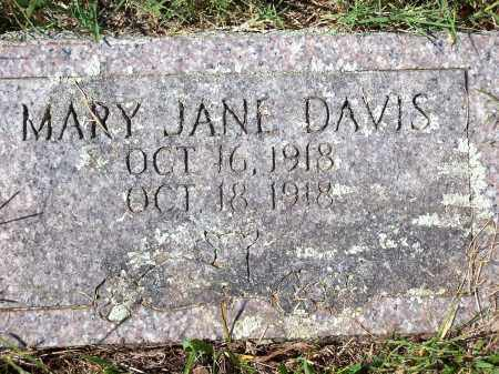 DAVIS, MARY JANE - Washington County, Arkansas | MARY JANE DAVIS - Arkansas Gravestone Photos