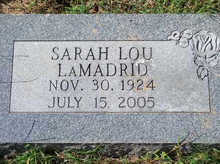 LAMADRID, SARAH LOU - Washington County, Arkansas | SARAH LOU LAMADRID - Arkansas Gravestone Photos