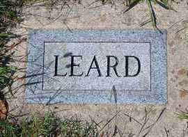 LEARD, UNKNOWN - Washington County, Arkansas | UNKNOWN LEARD - Arkansas Gravestone Photos