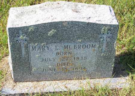 MCBROOM, MARY E - Washington County, Arkansas | MARY E MCBROOM - Arkansas Gravestone Photos