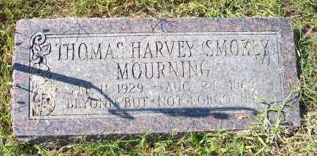 MOURNING, THOMAS HARVEY (SMOKEY) - Washington County, Arkansas | THOMAS HARVEY (SMOKEY) MOURNING - Arkansas Gravestone Photos