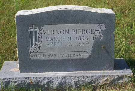 PIERCE (VETERAN WWI), VERNON - Washington County, Arkansas | VERNON PIERCE (VETERAN WWI) - Arkansas Gravestone Photos