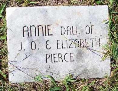 PIERCE, ANNIE - Washington County, Arkansas | ANNIE PIERCE - Arkansas Gravestone Photos