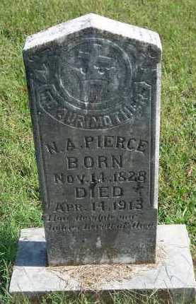 PIERCE, N A - Washington County, Arkansas | N A PIERCE - Arkansas Gravestone Photos