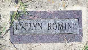 ROMINE, EVELYN - Washington County, Arkansas | EVELYN ROMINE - Arkansas Gravestone Photos