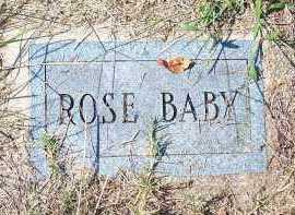 ROSE, BABY - Washington County, Arkansas | BABY ROSE - Arkansas Gravestone Photos