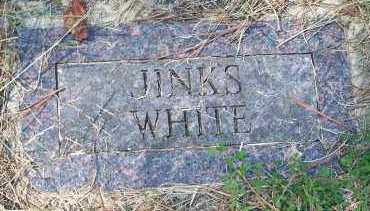 WHITE, JINKS - Washington County, Arkansas | JINKS WHITE - Arkansas Gravestone Photos