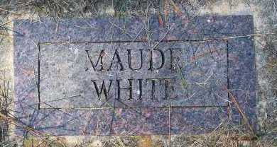 WHITE, MAUDE - Washington County, Arkansas | MAUDE WHITE - Arkansas Gravestone Photos