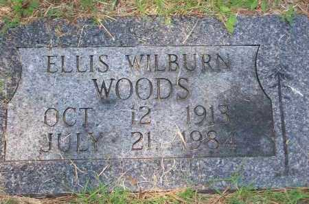 WOODS, ELLIS WILBURN - Washington County, Arkansas | ELLIS WILBURN WOODS - Arkansas Gravestone Photos