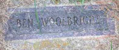 WOOLBRIGHT, BEN - Washington County, Arkansas | BEN WOOLBRIGHT - Arkansas Gravestone Photos