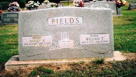 FIELDS, BAILEY ELIZABETH - Washington County, Arkansas | BAILEY ELIZABETH FIELDS - Arkansas Gravestone Photos