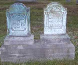 ABBOTT, MARY M. - Washington County, Arkansas | MARY M. ABBOTT - Arkansas Gravestone Photos