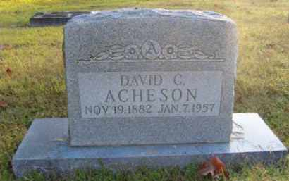 ACHESON, DAVID CAMPBELL - Washington County, Arkansas | DAVID CAMPBELL ACHESON - Arkansas Gravestone Photos
