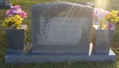 ACHESON, PEARLIE ESTHER - Washington County, Arkansas   PEARLIE ESTHER ACHESON - Arkansas Gravestone Photos