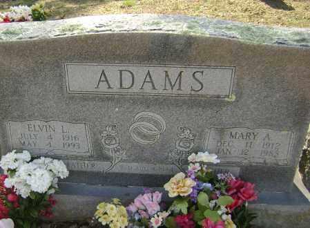 ADAMS, MARY A - Washington County, Arkansas | MARY A ADAMS - Arkansas Gravestone Photos