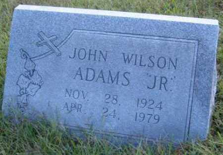 ADAMS, JOHN WILSON JR. - Washington County, Arkansas | JOHN WILSON JR. ADAMS - Arkansas Gravestone Photos