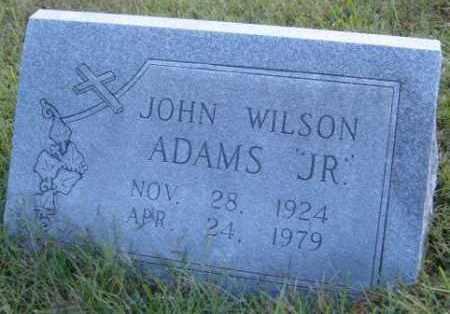 ADAMS, JOHN WILSON JR. - Washington County, Arkansas | JOHN WILSON JR. ADAMS - Arkansas Gravestone Photos
