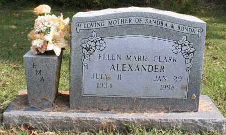 CLARK ALEXANDER, ELLEN MARIE - Washington County, Arkansas | ELLEN MARIE CLARK ALEXANDER - Arkansas Gravestone Photos