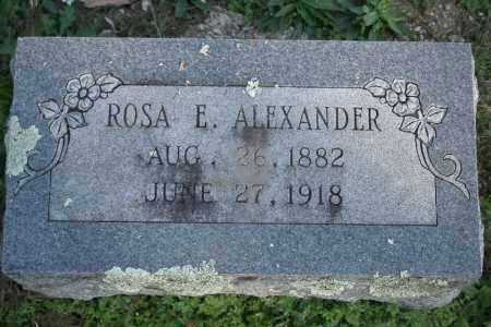 ALEXANDER, ROSA E. - Washington County, Arkansas | ROSA E. ALEXANDER - Arkansas Gravestone Photos