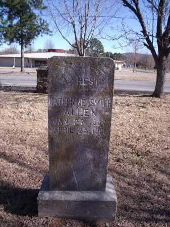 SMITH ALLEN, CATHERINE - Washington County, Arkansas | CATHERINE SMITH ALLEN - Arkansas Gravestone Photos