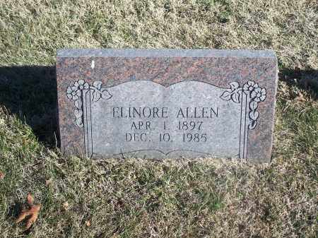 ALLEN, ELINORE - Washington County, Arkansas | ELINORE ALLEN - Arkansas Gravestone Photos