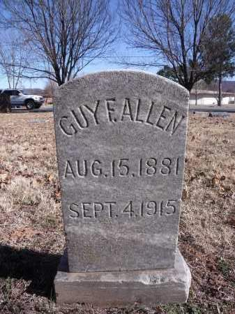 ALLEN, GUY F. - Washington County, Arkansas | GUY F. ALLEN - Arkansas Gravestone Photos