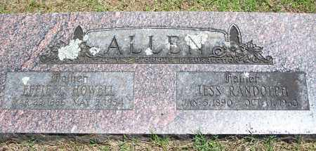 ALLEN, JESS RANDOLPH - Washington County, Arkansas | JESS RANDOLPH ALLEN - Arkansas Gravestone Photos