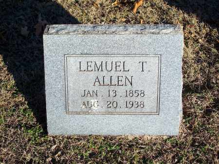 ALLEN, LEMUEL T - Washington County, Arkansas | LEMUEL T ALLEN - Arkansas Gravestone Photos
