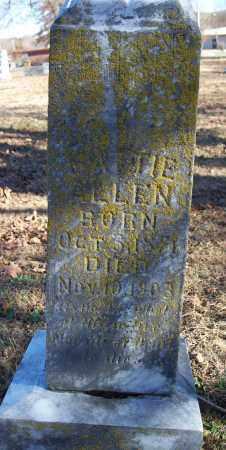 ALLEN, MATTIE - Washington County, Arkansas | MATTIE ALLEN - Arkansas Gravestone Photos