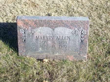 ALLEN, MARVIN - Washington County, Arkansas | MARVIN ALLEN - Arkansas Gravestone Photos