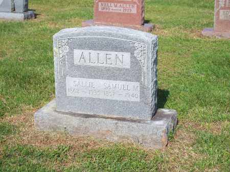 ALLEN, SAMUEL M. - Washington County, Arkansas | SAMUEL M. ALLEN - Arkansas Gravestone Photos