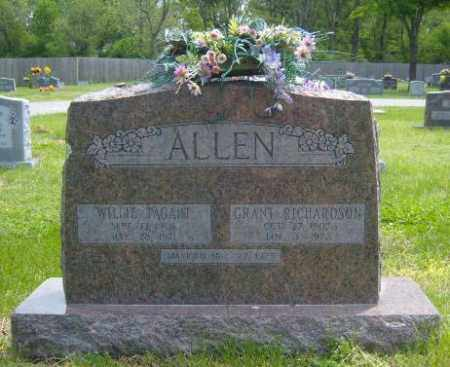TAGART WILLIE, ALLEN - Washington County, Arkansas | ALLEN TAGART WILLIE - Arkansas Gravestone Photos