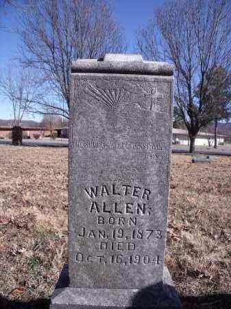 ALLEN, WALTER - Washington County, Arkansas | WALTER ALLEN - Arkansas Gravestone Photos